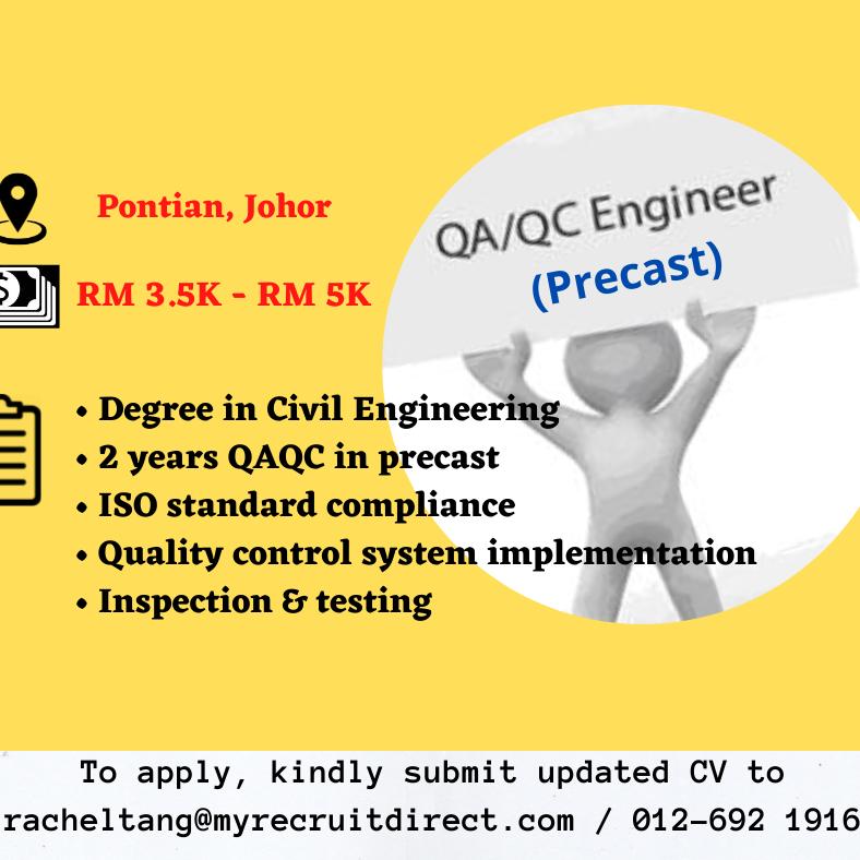 Quality Engineer (Precast)