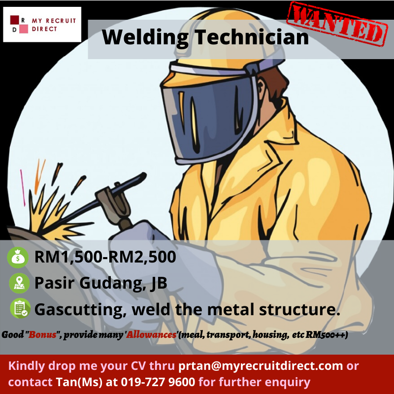 Welding Technician (cc:RIN)